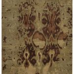 8x10 Modern Hand Knotted Wool