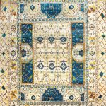 9x12, 8x10 and 6x9 Modern Sari Silk Hand Knotted